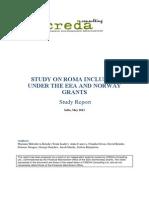 CREDA Hovedrapport Rom 2013