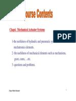 Lecture 3 Mechatronics