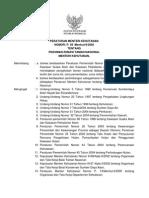 Peraturan Menteri kehutanan Nomor P. 56 /Menhut-II/2006 Tentang Pedoman Zonasi Taman Nasional
