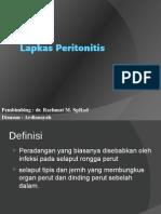 Lapkas Peritonitis