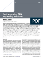 Next-Generation DNA Sequencing Techniques