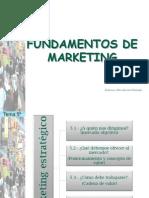 Tema 5o. Marketing Estrategico