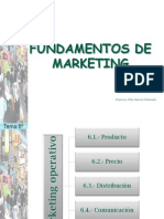 Tema 6o. Marketing Operativo