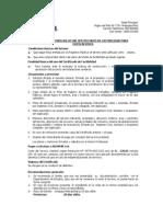 Requisitos Para Solicitar Certificados de Factibilidad Para Edificaciones