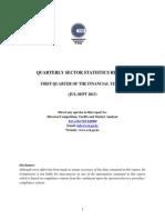 CCK_Sector Statistics Report Q1 2013 14
