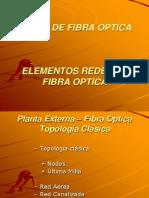 Elementos Red de Fibra Optica