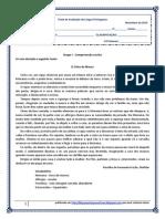 Lenda - teste de avaliação (blog7 10-11)
