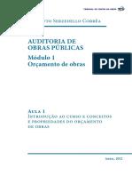 18 21101636281612013 Auditoria de Obras Publicas Modulo 1 Aula 1