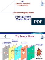 SOAM concept of accident analysis Mirabel Deicing accident