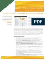 SolarWinds EnterpriseOperationConsole Datasheet FR