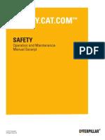 Manual Operacion y Mto Catg3406 - Safety