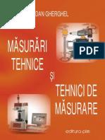 Masurari Tehnice Si Tehnici de Masurare