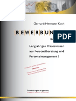 Bewerbungshandbuch Gerhard Hermann Koch