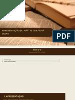 Apresentação do Portal da Chefia