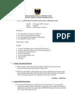 Minit Mesyuarat Panitia Sains Kali Pertama 2014