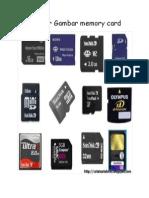 Gambar Gambar Memory Card