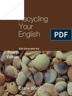 Recycling Your English With Removable Key Fourth Edition Cambridge Education Cambridge Univers Samples