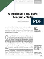 Ribeiro, Foucault e Sartre