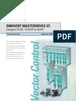 Simovert Masterdrives Vc