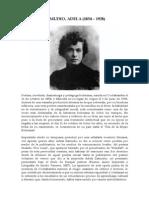 Adela Zamudio Bio