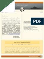 Saranagathi eNewsletter August 2012