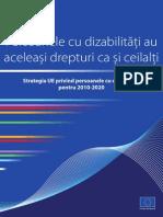 !! Strategia UE Privind Persoanele Cu Dizabilitati