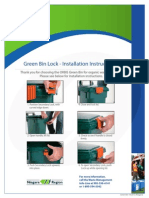 Literature - ORBIS Green Bin Secondary Lock Instructions (Niagara Region)
