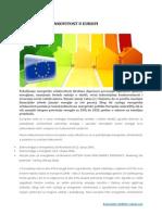 Energetska učinkovitost u Europi