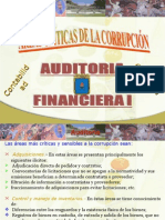 AUDITORIA FINANCIERA - AREAS CRITICAS DE LA CORRUPCION