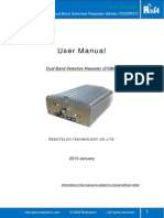 User Manual -Dual Band Selectiv Repeater _PODRP27 New