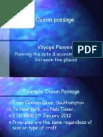 Passage Plan 3