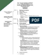 Public Agenda 01-20-2014 Meeting
