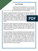 Biografia Jose Felix Ribas