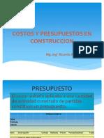 3 Costos y Presupuestos en Construccion 2013