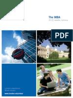 LBS MBA 2012