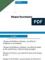 Risque Fournisseur
