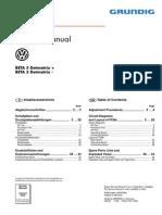 VW Beta5 Dotmatrix
