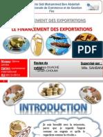Le Financement Des Exportations-siham Choumi Et Hamza Ouache
