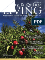 Fall 2009 County and Quinte Living Magazine