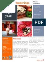 Donckers Winter Newsletter 2014