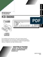 Manual Jvc Kd-s6060