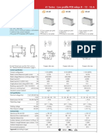 Finder 16A 12V DC relay datasheet.