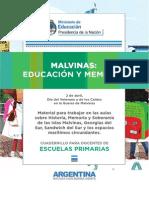 MALVINAS Educacion y Memoria Primaria MECCyT