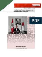 Boletín 2. Cruz Roja Peruana.
