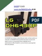 Lg Dh6430p - Aici Lg Dh6430p