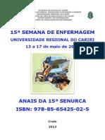 Anais Senurca 2013