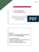 Psychrometrics Lecture (MKacira)
