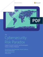 Cybersecurity Risk Paradox