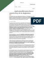 A. Kornblihtt Una Brujula Posible Para Hacer Ciencia Hoy en La Argentina