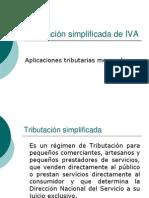 Tributacion IVA Simplificado